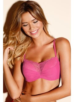 Soutien-gorge push-up, RAINBOW, rose flamant