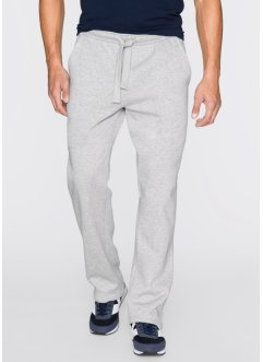 Herren Sweat-Hose, Regular Fit, bpc bonprix collection, hellgrau meliert