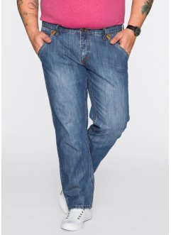 Jeans Regular Fit Straight, John Baner JEANSWEAR, blau