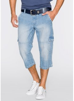 3/4 Jeans Regular Fit, John Baner JEANSWEAR, hellblau