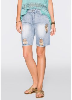 Jeansshorts, RAINBOW, blue bleached