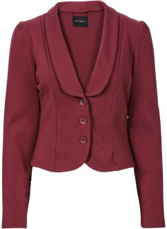 Sweatjacke, BODYFLIRT, bordeaux