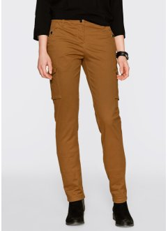 Cargo-Stretchhose, bpc bonprix collection, bronze