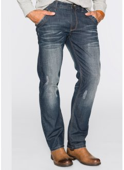 Jeans Regular Fit Straight, John Baner JEANSWEAR, mittelgrau