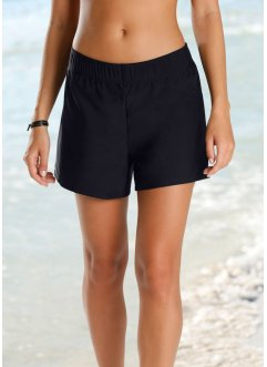 Badeshorts mit Innenslip, bpc bonprix collection, schwarz