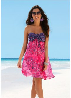 Strandkleid, bpc selection, pink/blau