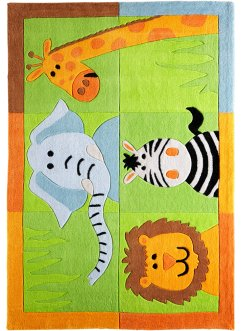 "Kinderteppich ""Zoo"", bpc living, multi"