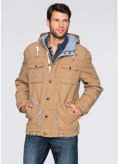 Jacke Regular Fit, bpc bonprix collection, beige