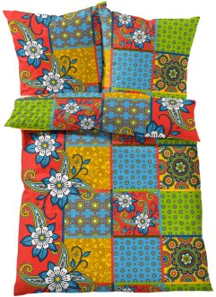"Bettwäsche ""Patch"", bpc living, multi"