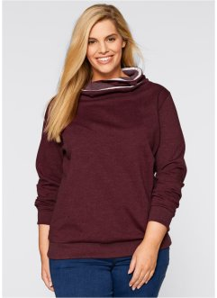 Sweatshirt, bpc bonprix collection, ahornrot