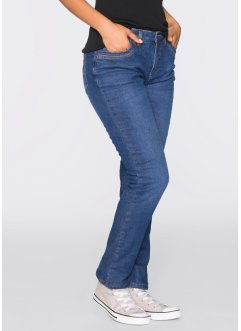 Thermo-Stretch-Jeans STRAIGHT, John Baner JEANSWEAR, blau