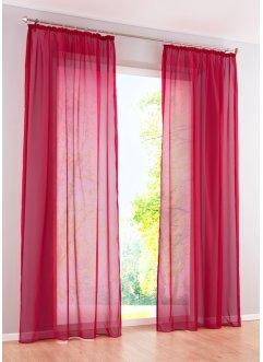 rote gardinen vorh nge bei bonprix kaufen. Black Bedroom Furniture Sets. Home Design Ideas