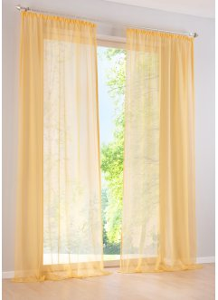 gardinen vorh nge in gelb angesagte wohntrends auf. Black Bedroom Furniture Sets. Home Design Ideas