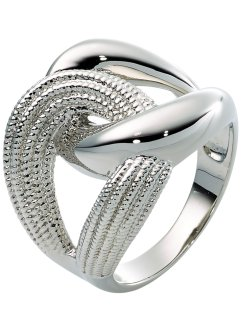 Ring, bpc bonprix collection, silberfarben