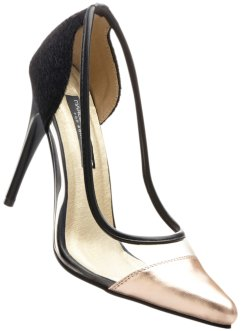 Pumps »Marcell von Berlin for bonprix«, Marcell von Berlin for bonprix, schwarz/kupfer