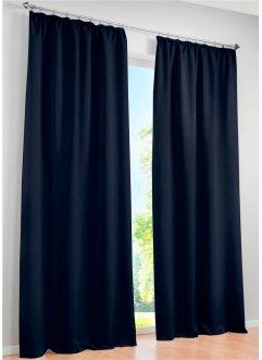 Blaue gardinen vorh nge im bonprix online shop for Verdunkelungsvorhang blau