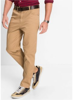 Stretch-Hose Classic Fit Straight, bpc bonprix collection, camel
