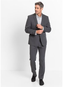 Slim-Fit-Anzug, bpc selection, anthrazit