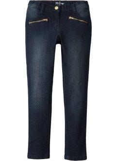 Knöchellange Skinny Jeans mit Ziertaschen, John Baner JEANSWEAR