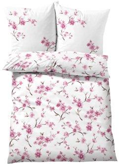 Bettwäsche mit Kirschblüten Design, bpc living bonprix collection