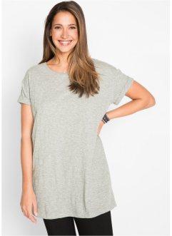 Boxy-Longshirt mit kurzen Ärmeln, bpc bonprix collection