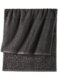 Handtuch mit Leo Muster, bpc living bonprix collection