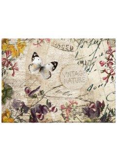 Fußmatte mit Schmetterlingsmotiv, bpc living bonprix collection