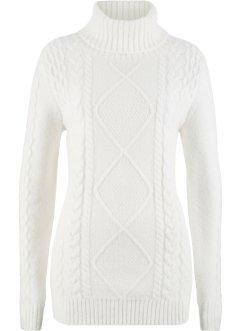 Pullover mit Rollkragen, bpc bonprix collection