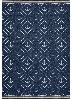 In- und Outdoor Teppich mit Anker Motiv, bpc living bonprix collection
