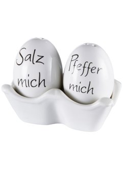 Salz- und Pfefferstreuer (3-tlg.Set), bpc living bonprix collection
