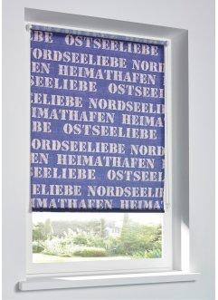 Sichtschutzrollo mit Schriftzug, bpc living bonprix collection