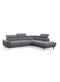 Ecksofa links mit Strukturstoff, bpc living bonprix collection