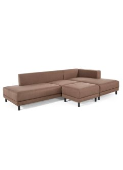 Ecksofa rechts mit Hocker (2-tlg.Möbelset), bpc living bonprix collection