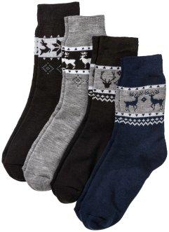 Thermo Socken (4er-Pack) unisex, bpc bonprix collection