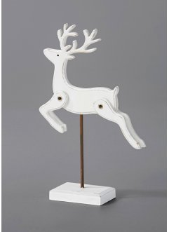 Deko-Figur Hirsch auf Ständer, bpc living bonprix collection