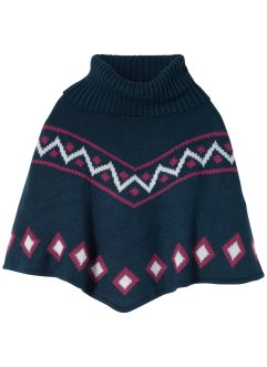 Strickponcho mit Rollkragen, bpc bonprix collection
