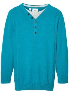 Pullover, 2-in-1-Optik, bpc bonprix collection