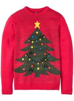 Weihnachtspullover mit Glöckchen, RAINBOW