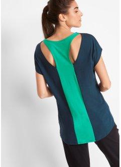 Modisches Sport-Shirt mit Rückenausschnitt, kurzarm, bpc bonprix collection