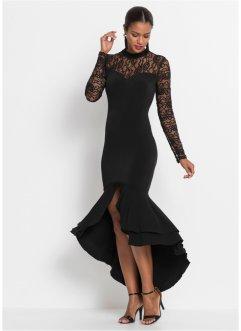 Abendkleid mit Volants und Spitze, BODYFLIRT boutique