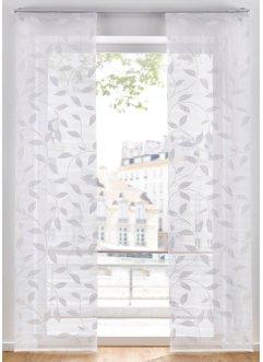 Schiebegardine mit Blätter Druck (1er Pack), bpc living bonprix collection