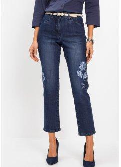 7/8-Jeans mit Stickerei, bpc selection