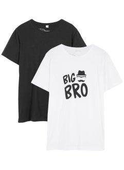 Jungen T-Shirt (2er-Pack), bpc bonprix collection
