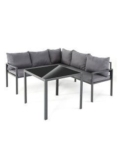 Gartenmöbel Eckbank Set (3.tlg.Set), bpc living bonprix collection