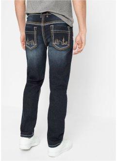 Regular Fit Stretch-Jeans, Straight, RAINBOW