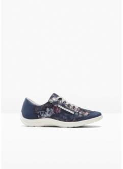 bequemer Sneaker aus Leder in H-Weite, bpc selection