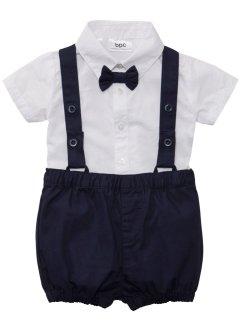 Baby Hemd + Fliege + Hose (3-tlg. Set), bpc bonprix collection