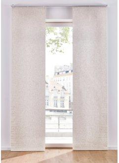 Leinen Optik Schiebegardine (1er Pack), bpc living bonprix collection