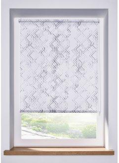 Sichtschutzrollo mit grafischem Druck, bpc living bonprix collection