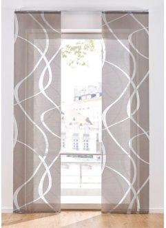 Schiebegardine mit Wellen (1er Pack), bpc living bonprix collection